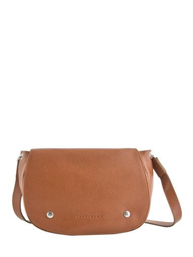Longchamp Le foulonné Messenger bag Brown
