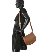 Longchamp Le foulonné Sacs porté travers Marron-vue-porte