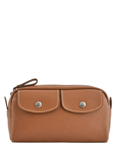 Longchamp Le foulonné Clutches Brown