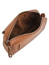 Longchamp Le foulonné Clutches Brown-vue-porte