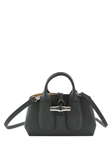 Longchamp Roseau Handbag Black