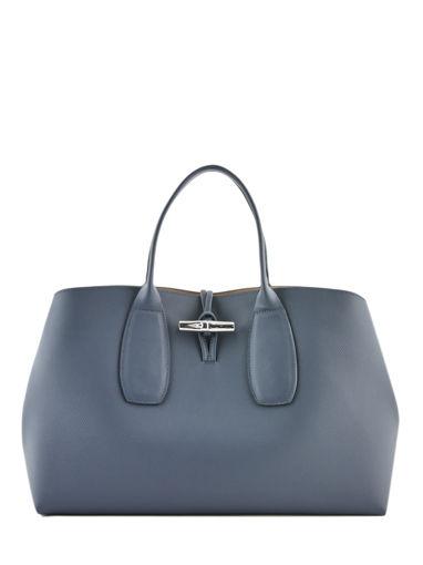 Longchamp Roseau Sacs porté main Noir