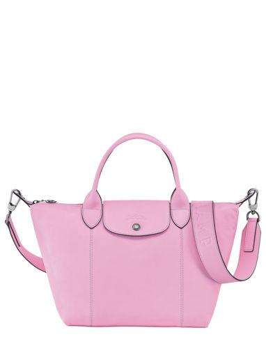 Longchamp Le pliage cuir Handbag Black