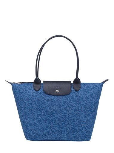 Longchamp Le pliage panthÈre Besaces Bleu