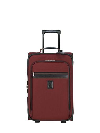 Longchamp Boxford Valise à roulettes Rouge