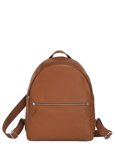Longchamp Le foulonné Backpacks Brown