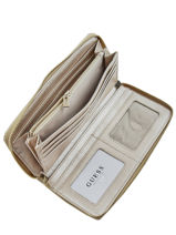 Wallet Astrid Guess Gold astrid MG747963-vue-porte