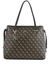 Sac Shopping A4 Digital Guess Marron digital SQ685324