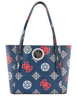 Tote Bag A4 Open Road Guess Blue open road PM718623