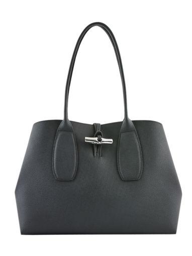 Longchamp Roseau Hobo bag Black
