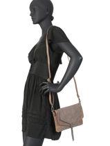 Crossbody Bag Pyping Miniprix Beige pyping MD1583-vue-porte