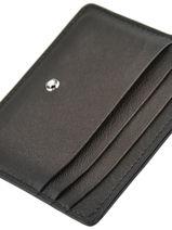 Leather Meisterstück Sfumato 6cc Card Holder Montblanc meisterstÜck 118365-vue-porte