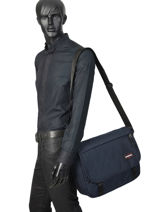 Messenger Bag Delegate+ Eastpak Blue K26E-vue-porte