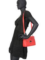 Crossbody Bag Foulonné Pia Lancaster Red foulonne pia 547-39-vue-porte