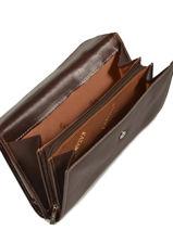 Continental Wallet Leather Katana Brown vachette gras 853115-vue-porte