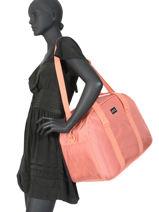 Compact Luggage Feel Happy Roxy Black luggage RJBP4073-vue-porte