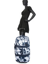 Travel Bag On Wheels In The Clouds Roxy Black luggage RJBL3192-vue-porte