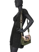 Shoulder Bag Creativa Liu jo Green creativa AA0036A-vue-porte