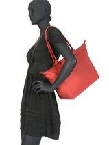Longchamp Le pliage neo Hobo bag Red-vue-porte