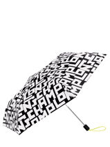 Longchamp Umbrella Black-vue-porte