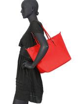Large Tote Bag Chadwick Lauren ralph lauren Red chadwick 31752974-vue-porte
