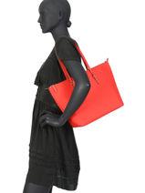 Medium Tote Bag Chadwick Lauren ralph lauren Red chadwick 31758179-vue-porte