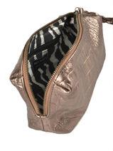 Trousse Vintage Cuir Paul marius Beige caiman ADELECAI-vue-porte