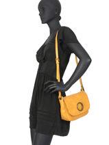 Crossbody Bag Seventy Miniprix Yellow seventy S6112-vue-porte