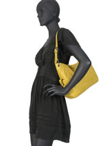 Hobo Bag Gracieuse Hexagona Black gracieuse 315301-vue-porte