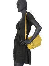 Shoulder Bag Gracieuse Hexagona Black gracieuse 315311-vue-porte