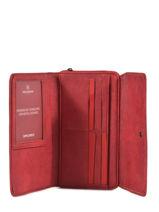 Wallet Hexagona Red gracieuse 317257-vue-porte
