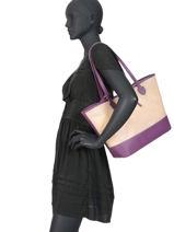 Shoulder Bag A4 Malibu Hexagona Pink malibu 505917-vue-porte