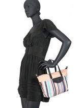 Handbag Calypso Hexagona Black calypso 966547-vue-porte