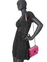 Crossbody Bag River Leather Milano Pink river RI191102-vue-porte