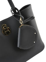 Longchamp Cavalcade Coin purse Black-vue-porte