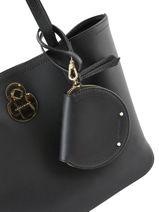 Longchamp Cavalcade Porte-monnaie Noir-vue-porte