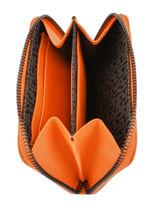 Longchamp Le pliage cuir Coin purse Black-vue-porte