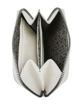 Longchamp Le pliage cuir Porte-monnaie Blanc-vue-porte