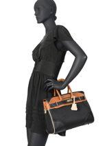 Shopping Bag Bryan Mac douglas Black bryan PYLBRY-X-vue-porte