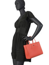Top Handle Chantaco Leather Lacoste Black chantaco NF2562CE-vue-porte