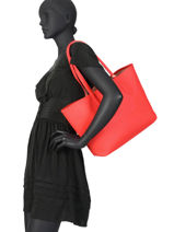 Reversible Shoulder Bag Anna Lacoste Black anna NF2142AA-vue-porte