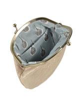 Purse Leather Mila louise Beige vintage 3304S-vue-porte
