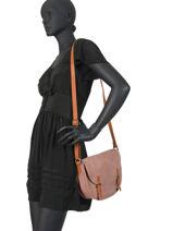 Crossbody Bag Brown Miniprix Pink brown H6770-vue-porte