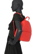 Backpack Confort Hexagona Red madrid 536749-vue-porte