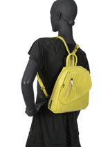 Backpack Gracieuse Hexagona Black gracieuse v-vue-porte