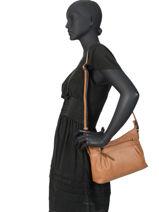 Crossbody Bag Gracieuse Hexagona Brown gracieuse 316746-vue-porte
