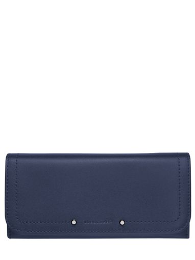Longchamp Cavalcade Wallet Blue