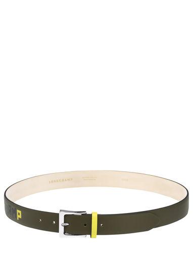 Longchamp Autres lignes Belts Green