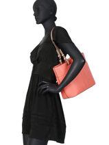Shopper Bedford Leather Michael kors Pink bedford S9GBFT2L-vue-porte