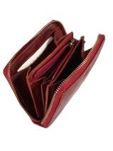 Porte-monnaie Texas Cuir Biba Rouge accessoires BT11-vue-porte